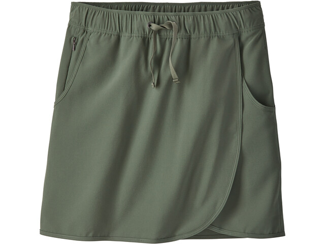 Patagonia Fleetwith Jupe-short Femme, kale green